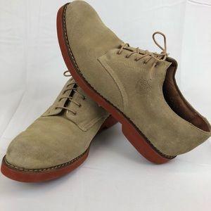 Vintage Polo Ralph Lauren 11.5D Suede Leather Shoe